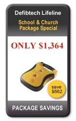 Defibtech School & Church Package AB 6250